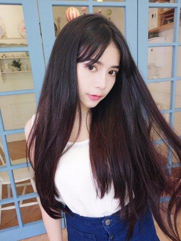 【PU0278】(隱形補髮片) 柔順長直髮