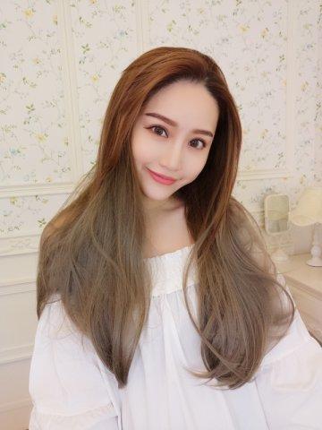 【PU0778】(U型隱形補髮片)漸層直髮