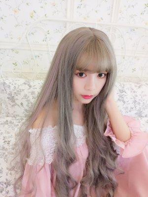 【W02078】甜美密境 挑染色QQ捲 大頭皮 長捲髮
