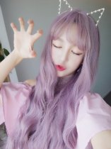 【W00178】 夢幻公主 空氣瀏海 波浪長捲髮