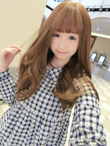 【W00867】沁甜女孩 空氣瀏海 大頭皮 梨花捲髮