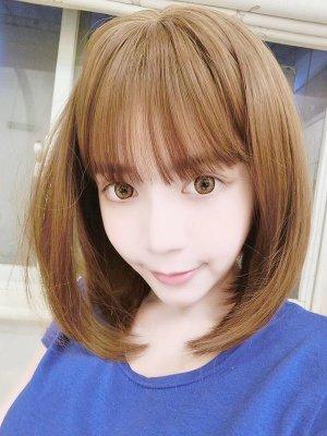 【W01267】 放電甜心 空氣瀏海 大頭皮 內彎短髮